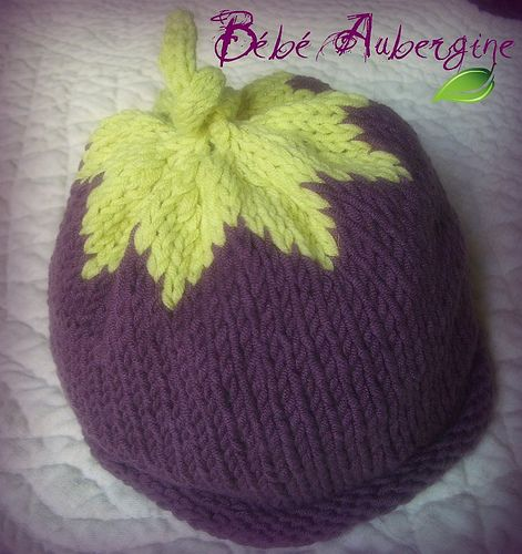 bonnet aubergine by Les photos de Vero, via Flickr