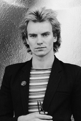 Sting (pre-nose job) After the nose job he looks curiously like Dr. Smith of Lost in Space fame