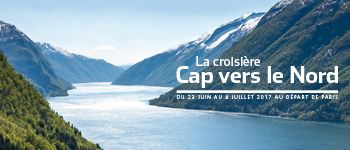 Embarquez pour la croisière « Cap vers le Nord » en Norvège, un événement Marie Claire au coeur des fjords avec Luc Ferry et Christine Kelly.