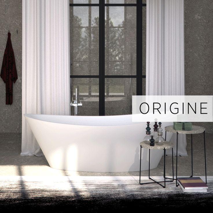 Every shape tells a story. Choose your tub! #bathtub #bathroom #signconcept