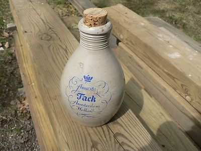 Anno 1813 Jack Amsterdam Holland Stoneware Crock Jug Bottle Primitive Pottery | eBay