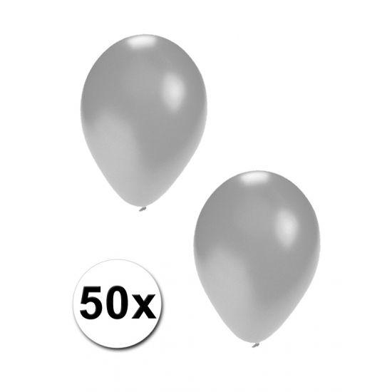50 stuks zilveren ballonnen  50 stuks zilveren ballonnen. Formaat opgeblazen ballon: 27 cm. Latex ballonnen die geschikt zijn voor helium en lucht. Door u zelf te vullen.  EUR 5.00  Meer informatie