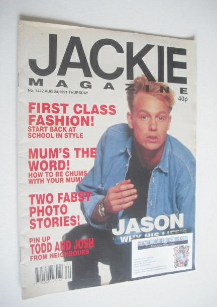 Fair to good condition - magazine has been read - light wear - an address has been written in pencil at the top of the front cover - some light creasing to front cover 			 			 			 			 			 			 			 			 			 			 			 			 			 		 		 		 			 			 			 			 			 			 			 			 			 			 			 			 			JASON DONOVAN - 2 pages 	 	MAKING FRIENDS - How to find them and keep them 	One and a half page feature 	 	TODD AND JOSH (NEIGHBOURS) - double page poster 	 	COLOR ME BADD - Lyrics to 'All 4 Love' 	1 page 	 	G...