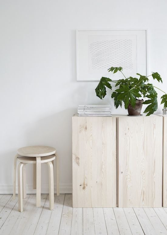 Via Trettiosju Kvm | IKEA Ivar and Frosta | Nordic | Wood | White