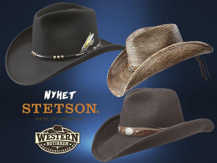  NYHET på Westernbutikken  - Stetson hatter finner du nå på www.westernbutikken.no