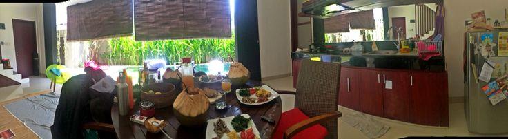 Our simple n lovely villa at Umalas, Bali.