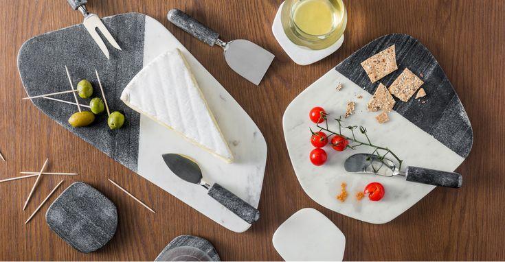 AFFILIATELINK | Käseteller, Ulla große Platte, Marmor | Skandinavisch, …   – Küche | DIY, Deko und Einrichtung