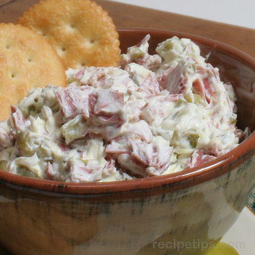 Pickle Wrap Dip Recipe Image
