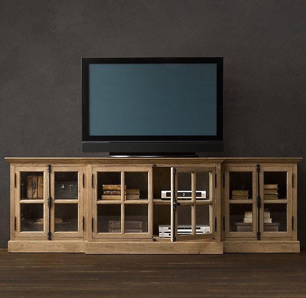 Decor Cabinets Hardware: Restoration Hardware Media Center $2195