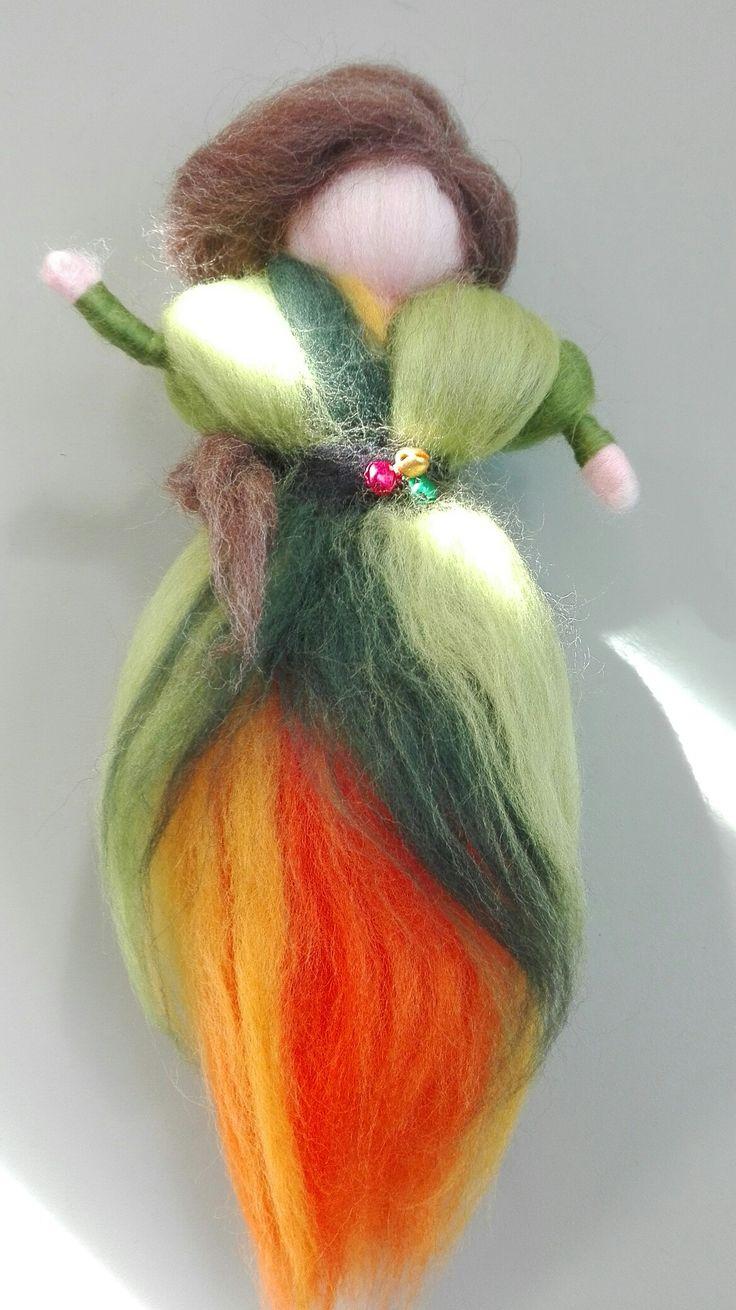 Autumn wool fairy