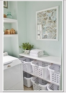 Exactly what i need to do for laundry room storage!