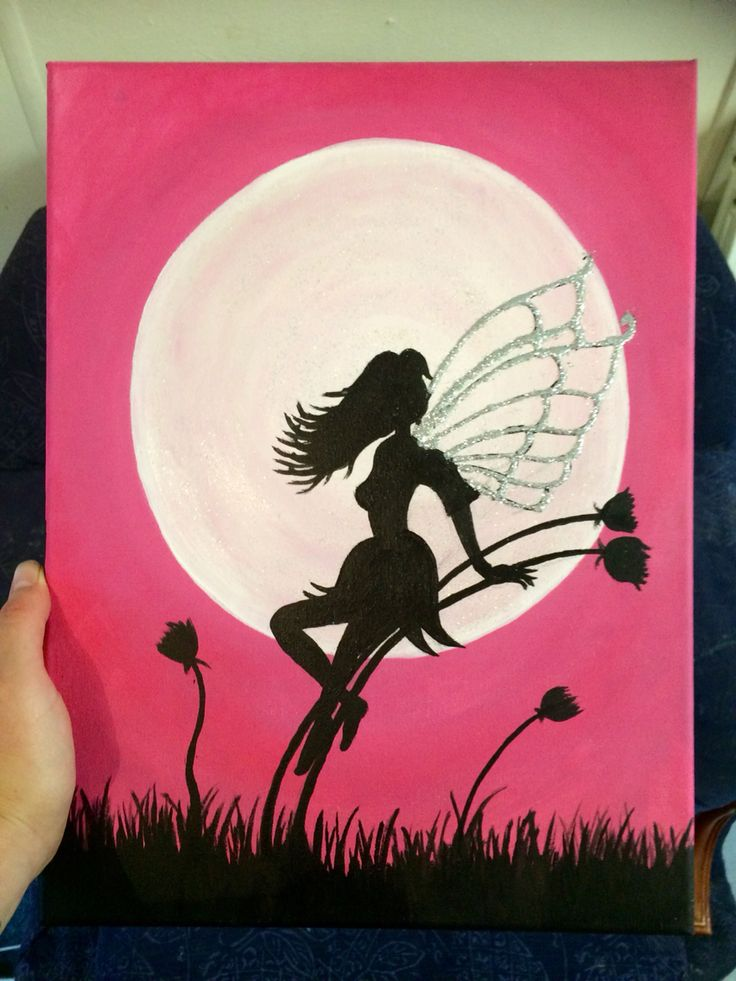 'A Fairy By The Moon' by Zoe Andrews