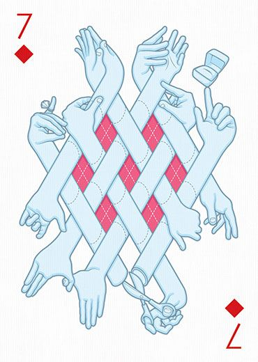 Deck of cards by 55 artists — Playing Arts Project                                                                                                                                                     More