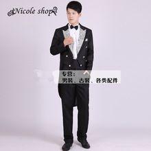 Nova chiffons magro dos homens ternos masculinos de três peças vestido equipada do noivo negócios(China (Mainland))