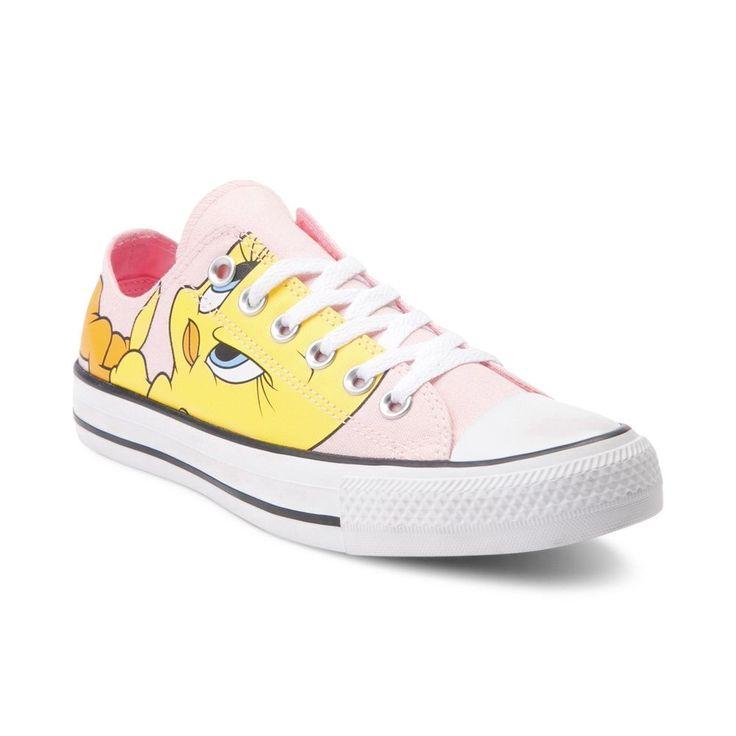 NEW Converse Chuck Taylor All Star Lo Looney Tunes Tweety Bird ...