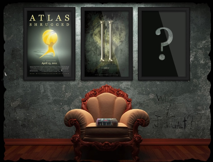 Atlas Shrugged movie - the book by Ayn Rand is almost prophetic