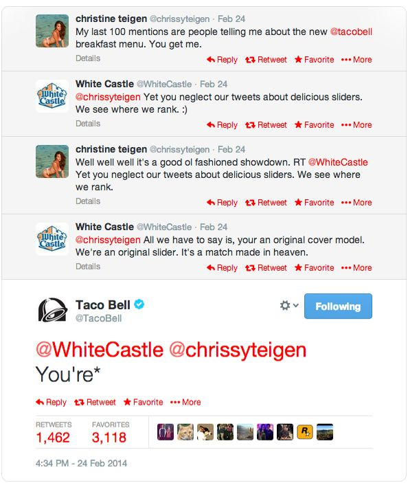 Taco Bell tweets. A lesson for us all.