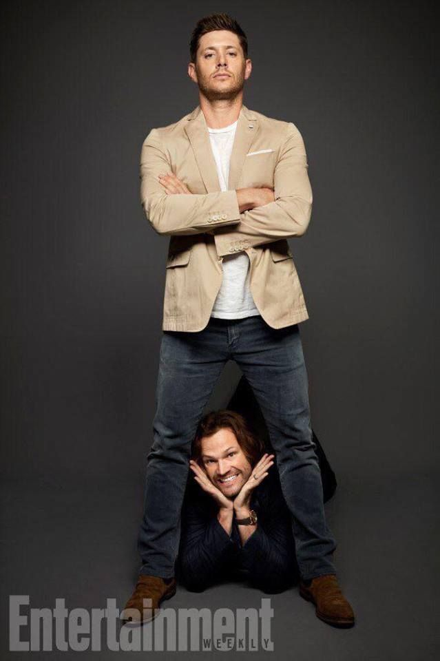 Jensen Ackles and Jared Padalecki from SDCC and EW