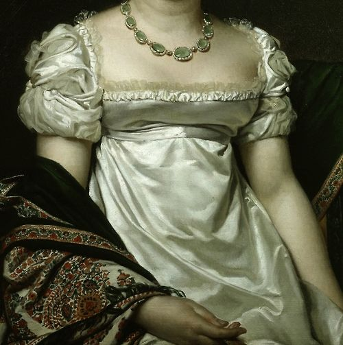 """Comtesse Daru"" (1810) (detail), by Jacques-Louis David (1748–1825)"