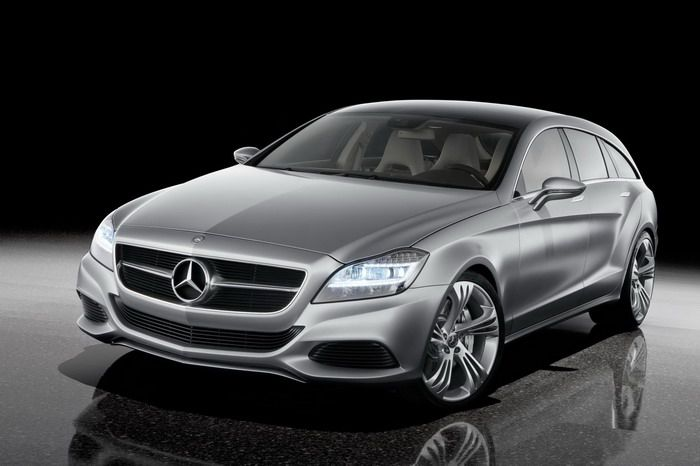 Mercedes-Benz builds the CLS Shooting Brake