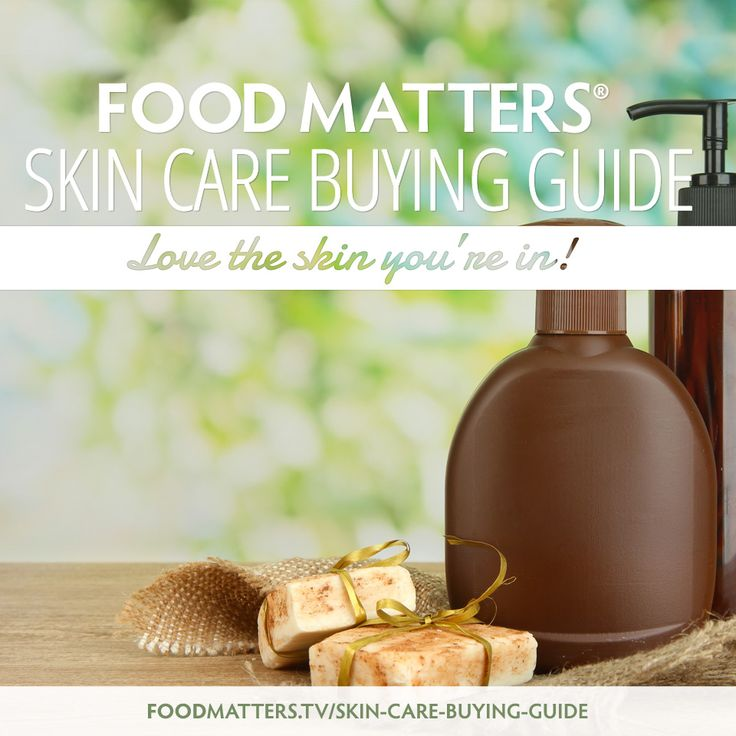 Check Out The 2014 Food Matters Skin Care Buying Guide http://foodmatters.tv/skin-care-buying-guide