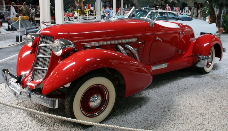 Red Auburn Speedster by Mechanicman.deviantart.com on @deviantART
