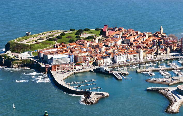 Cimadevilla #Gijón #ciudades #cities #Asturias #ParaísoNatural #NaturalParadise #Spain
