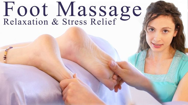 Wanna be able to give your loved one or friend a great foot massage? Then watch the beautiful Melissa LaMunyon demonstrate how to give the best foot massage for relaxation and stress relief! A great way to end a stressful day! How do your feet feel?