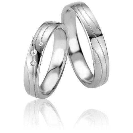 Alliance Grammos Argent et Diamants - Breuning