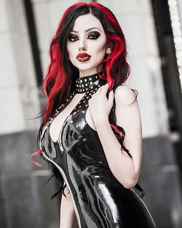 WEBSTA @ dani_divine - Today I shared the thumbnails of all my shiny calendar images! A warm thank you to the beautiful people who have ordered my calendar so far!! Your support warms my vampire heart 💘When you get yours, don't forget to take a selfie with it and tag me!Latex by @honourclothingPhoto by @studio15nz