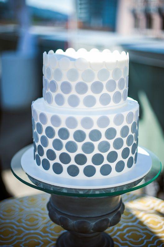 Polka Dot Fondant Cake Ideas