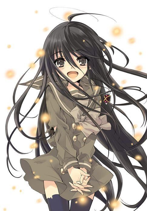Shana, Shakugan no Shana, black hair