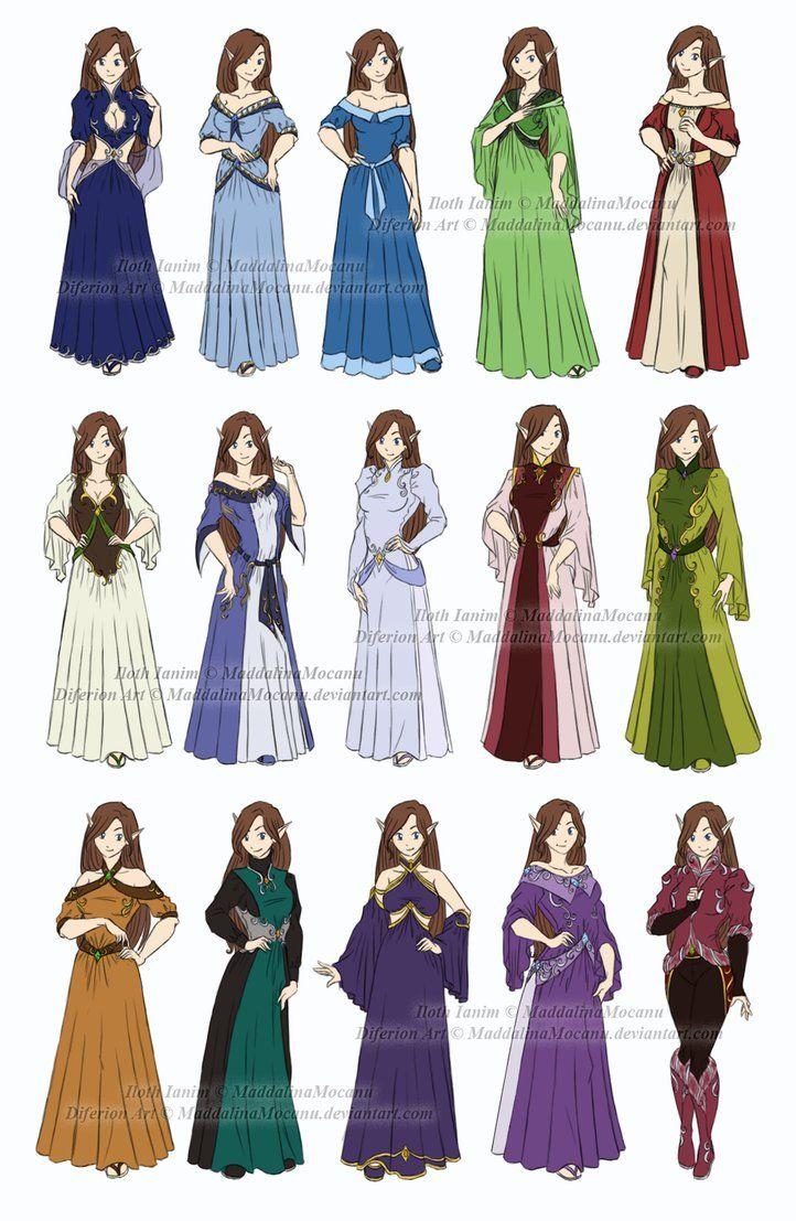 Dress and Clothes Designs: P1 - Iloth Ianim by MaddalinaMocanu