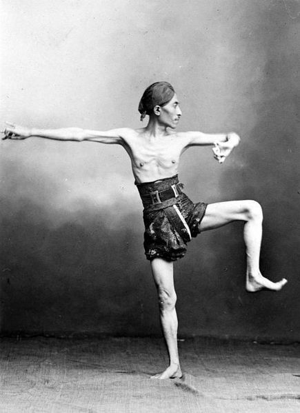 Indonesia vintage ~Java ~ Dancer from Java, (Kraton) Yogyakarta ca 1900