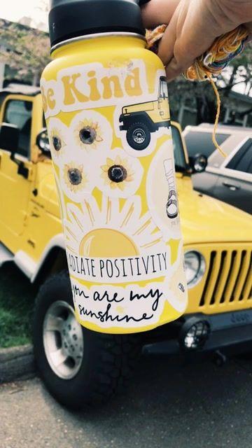 aesthetic yellow tumblr sticker