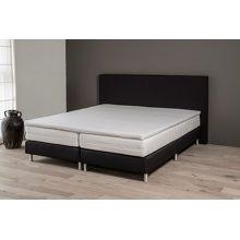 Quality of Sleep Brighton Boxspringset 140 x 200 cm - Antraciet