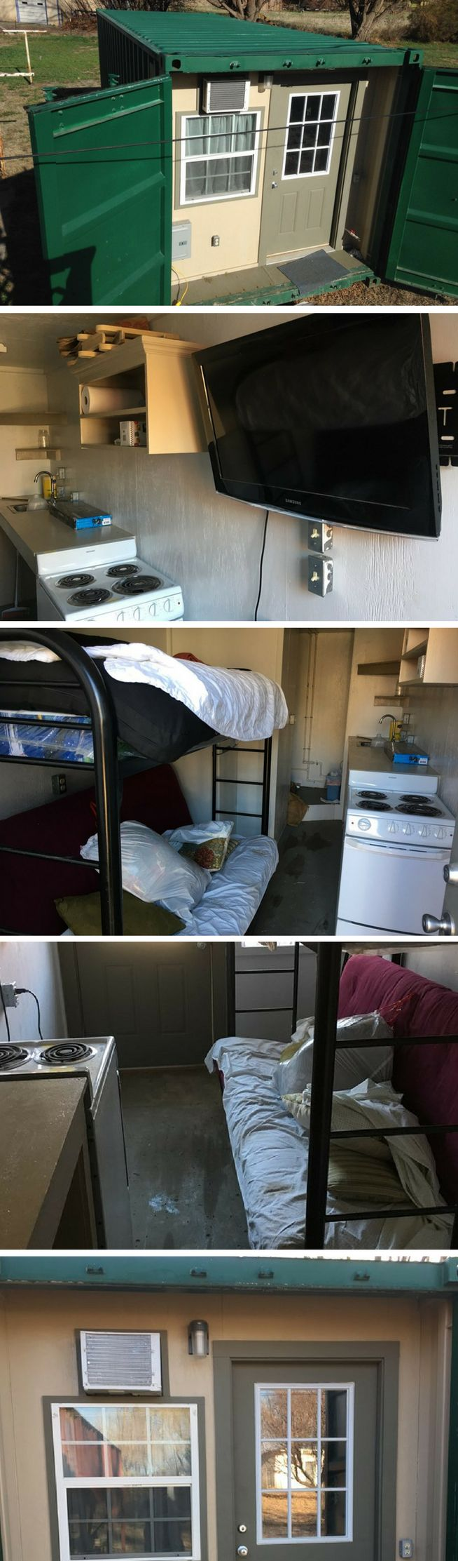 STEALTH CONEX TINY CONTAINER HOUSE