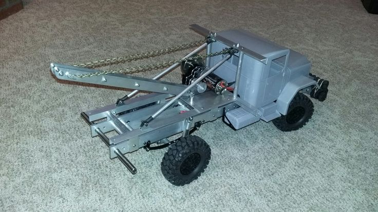 Mostly Cross RC truck parts frame hand made