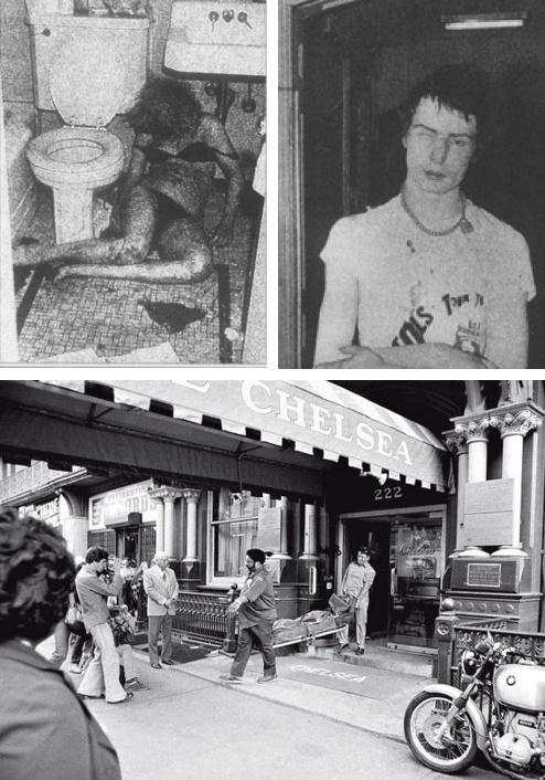 Sid Vicious Chelsea Hotel Room