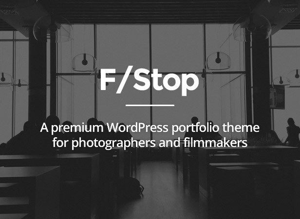 creative FStop - Photography & Video Portfolio WP Template