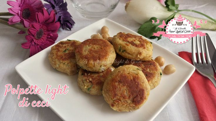 Polpette light di ceci (24 calorie l'una) | Le Ricette Super Light Di Giovi