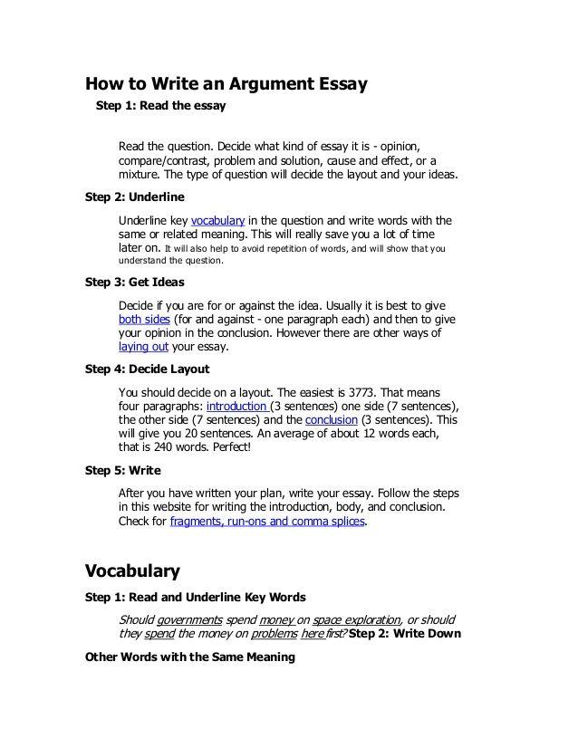 The  Best Argumentative Essay Outline Ideas On