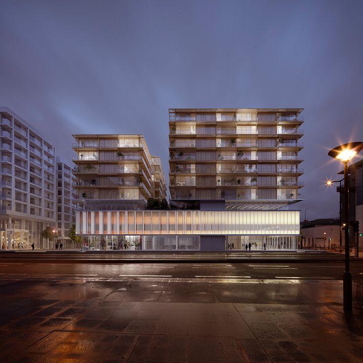 Aldric Beckmann Architectes + Philippe Rizzotti Architecte