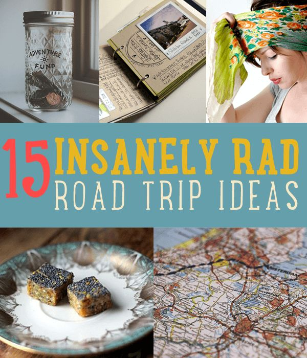 Are you thinking of taking a road trip anytime soon? Have some DIY fun and adventure this summer with these cool homemade project ideas you can take along.