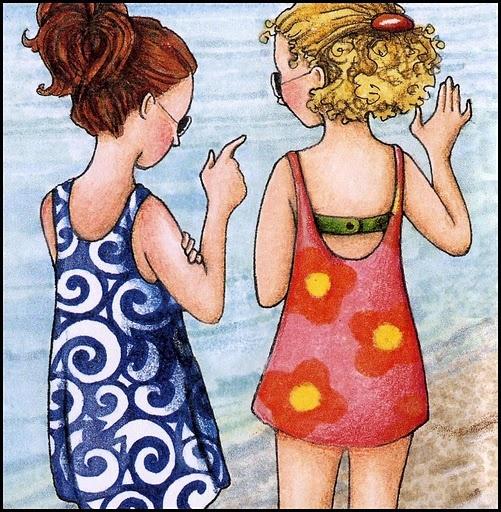 Imagenes de amigas para imprimir - Imagenes y dibujos para imprimirTodo en imagenes y dibujos