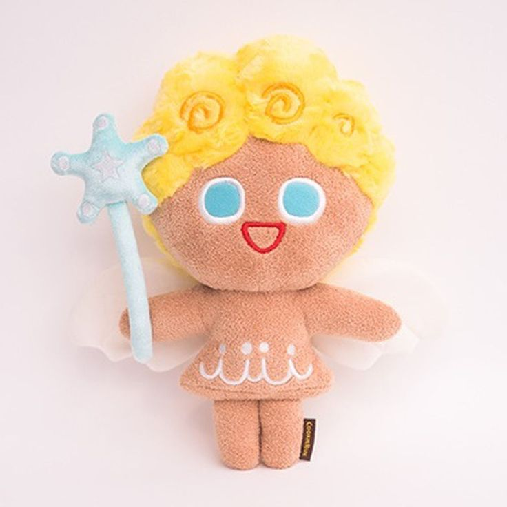 Korea Moblie Game Cookie Run Character Plush Doll 30cm 12in Angel Cookie #Cookierun