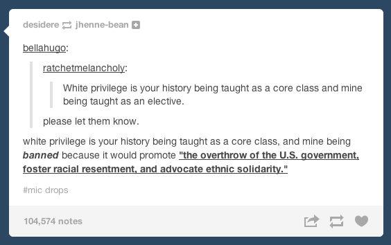On education: