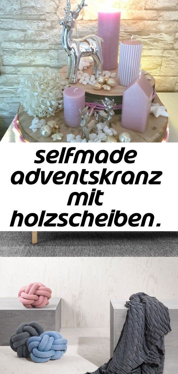 Adventskranz Aldi Bettenlager Danisches Deko Holzscheiben