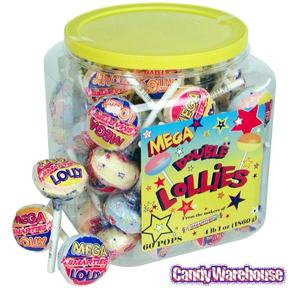 Just found Mega Double Lollies: 60-Piece Tub @CandyWarehouse, Thanks for the #CandyAssist!