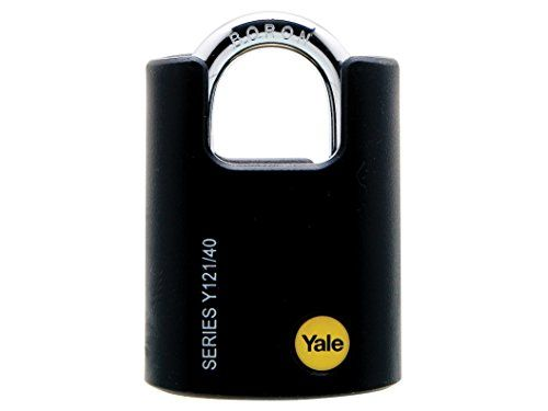 From 7.31 Yale Locks Yaly12140 40 Mm Brass Padlock Closed Shackle